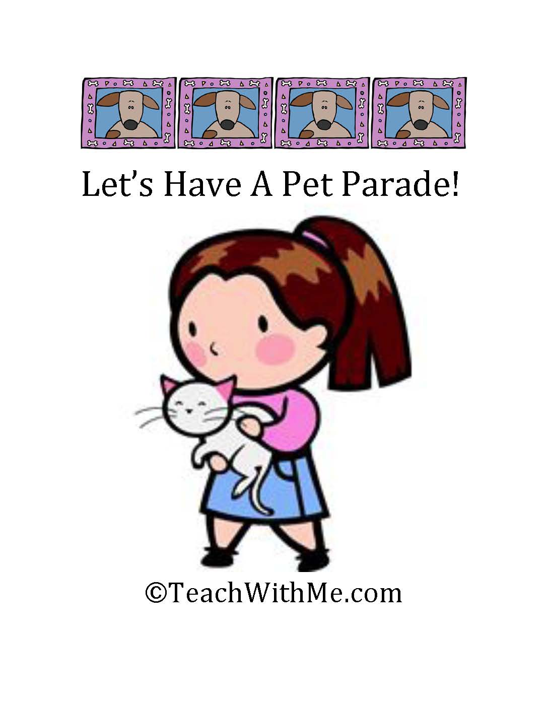 Classroom Freebies End Of The Year Fun Plan A Pet Parade