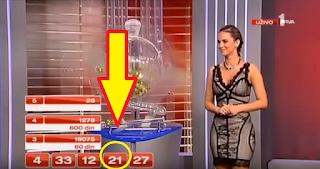 ΤΖΟΚΕΡ ΛΟΤΤΟ - Έδειξαν αριθμό πριν βγει από την κληρωτίδα στην Σερβία !!