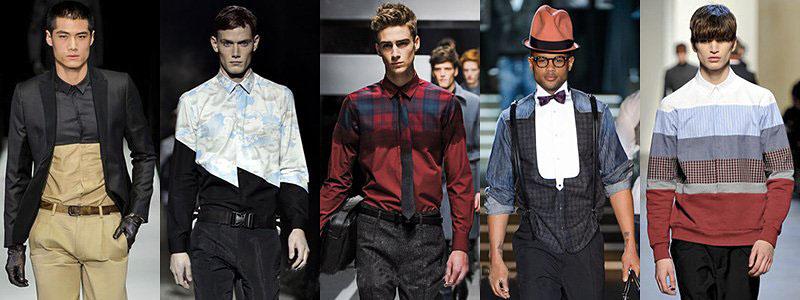 Winter 2014 Men's Shirts Fashion Trends