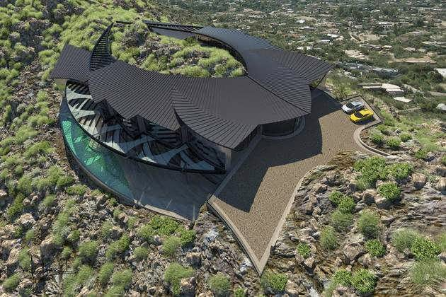 TOP 7 UNIQUE HOUSE DESIGN: UNIQUE, ULTRAMODERN AND STUNNINGLY STRANGE-LOOKING MANSION CONCEPT CALLED MULTIMILLIONAIRE OR BILLIONAIRE HOME