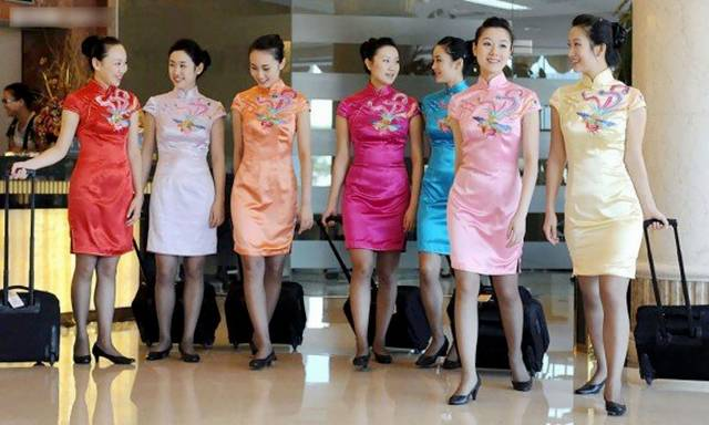 28China252CSichuanAirlinesAirHostess - Air Hostess From Different Countries