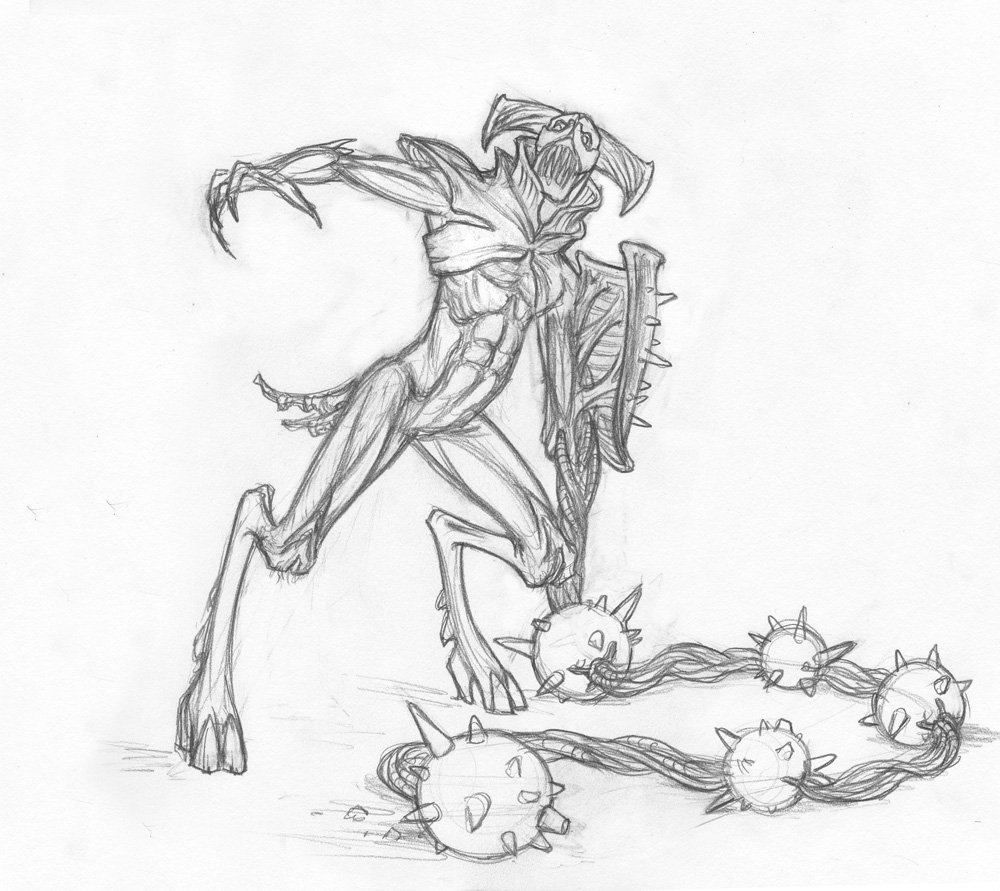 Pencil Drawings Various Dolcett Fantasies Spit Roast Spitroast ...