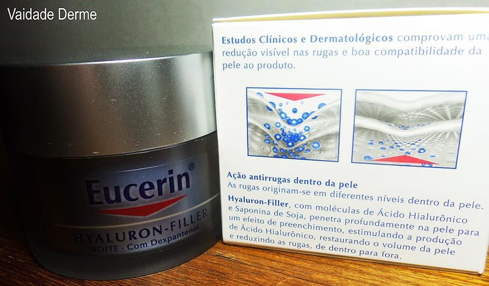 Eucerin Hyaluron Filler Noite Creme Antirrugas