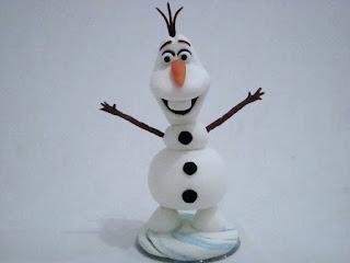Boneco de neve Frozen