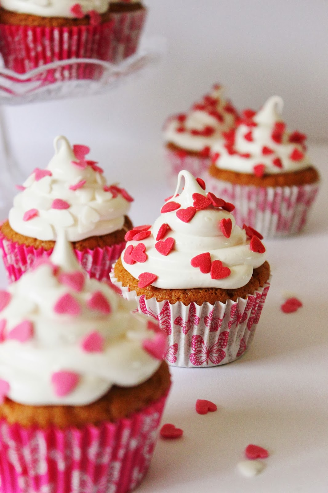 Liefdescakejes / Valentijnscakejes