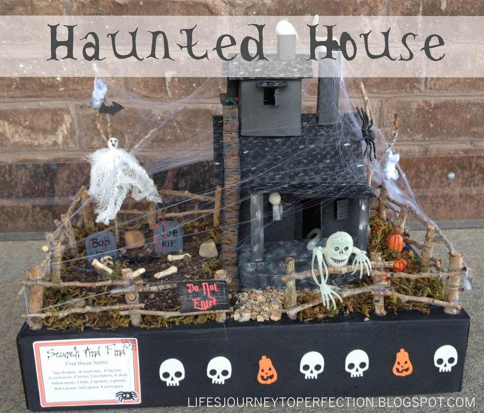 Haunted house essay