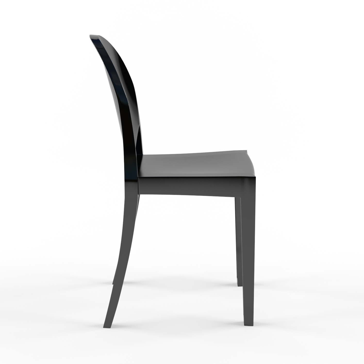 3d victoria ghost chair by philippe starck like interior. Black Bedroom Furniture Sets. Home Design Ideas