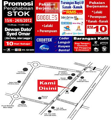 Branded Warehouse Clearance Sale-Kedah
