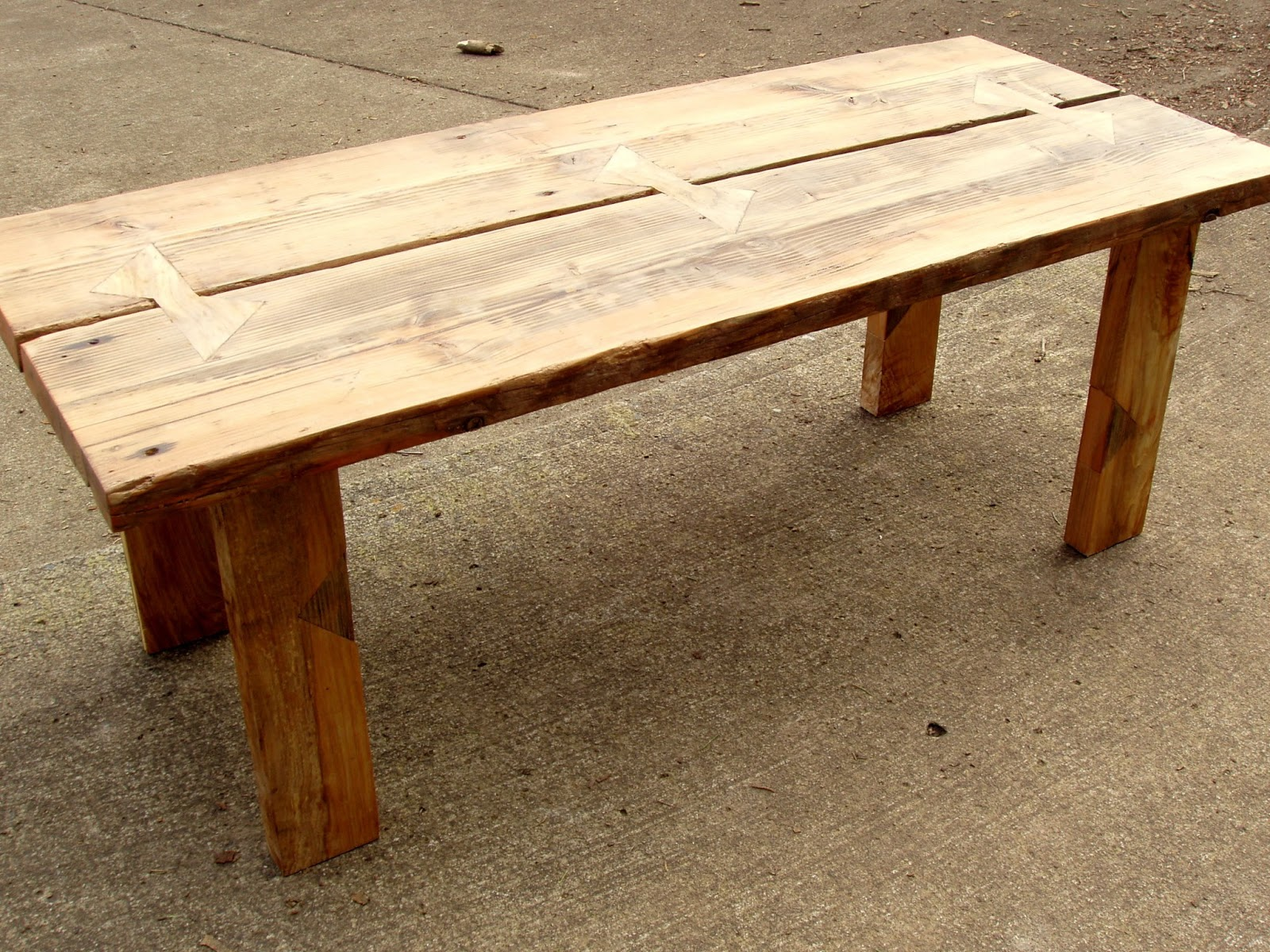 Pnw reclaimed wood furniture for Reclaimed furniture portland