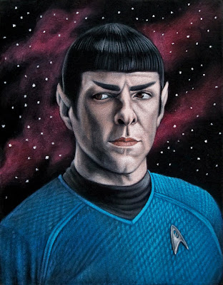 Gallery 1988 presents The Bad Robot Art Experience - Star Trek by Bruce White