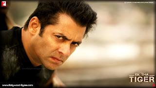 Salman Khan angry face HD Wallpaper from Ek Tha Tiger