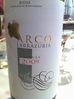 Restaurante-Epaia-Hotel-Abando-Bilbao-Vino-Rioja-Crianza-2009-Arco-Larrazuria