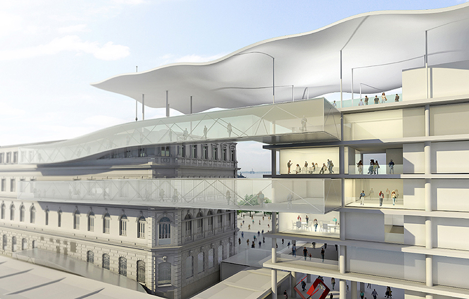 Museu de Arte do Rio de Janeiro. Projeto do escritório Bernardes + Jacobsen.