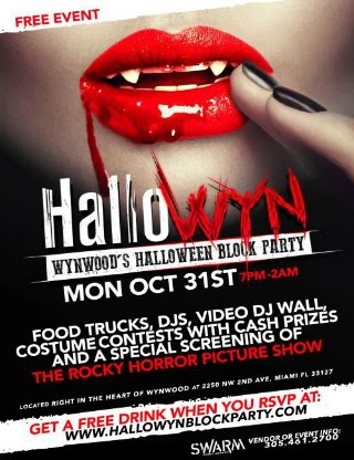 Snappin Event: Wynwood's Halloween Block Party