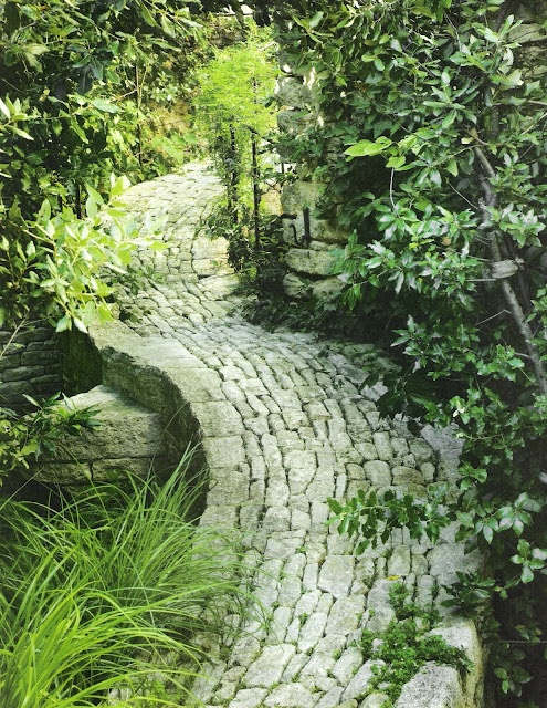 Jard n y terrazas dise o de caminos para el jard n - Caminos para jardines ...