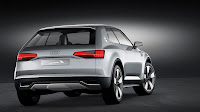 Audi Crosslane Coupe Concept back