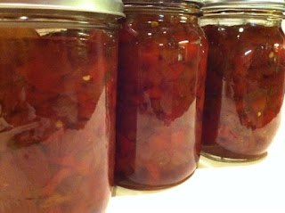Sweet and Hot Pepper Onion Relish