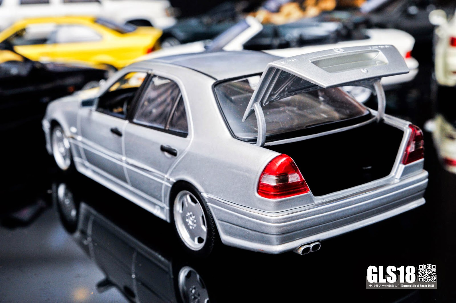 1 18 mercedes benz c36 amg w202 by ut dx sedan for Mercedes benz utah