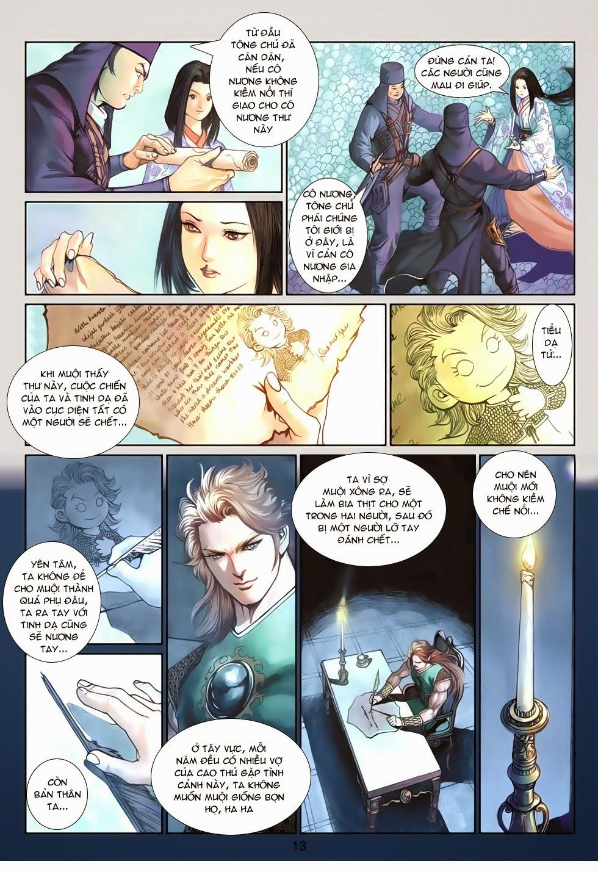Thần Binh Tiền Truyện 4 - Huyền Thiên Tà Đế chap 13 - Trang 13