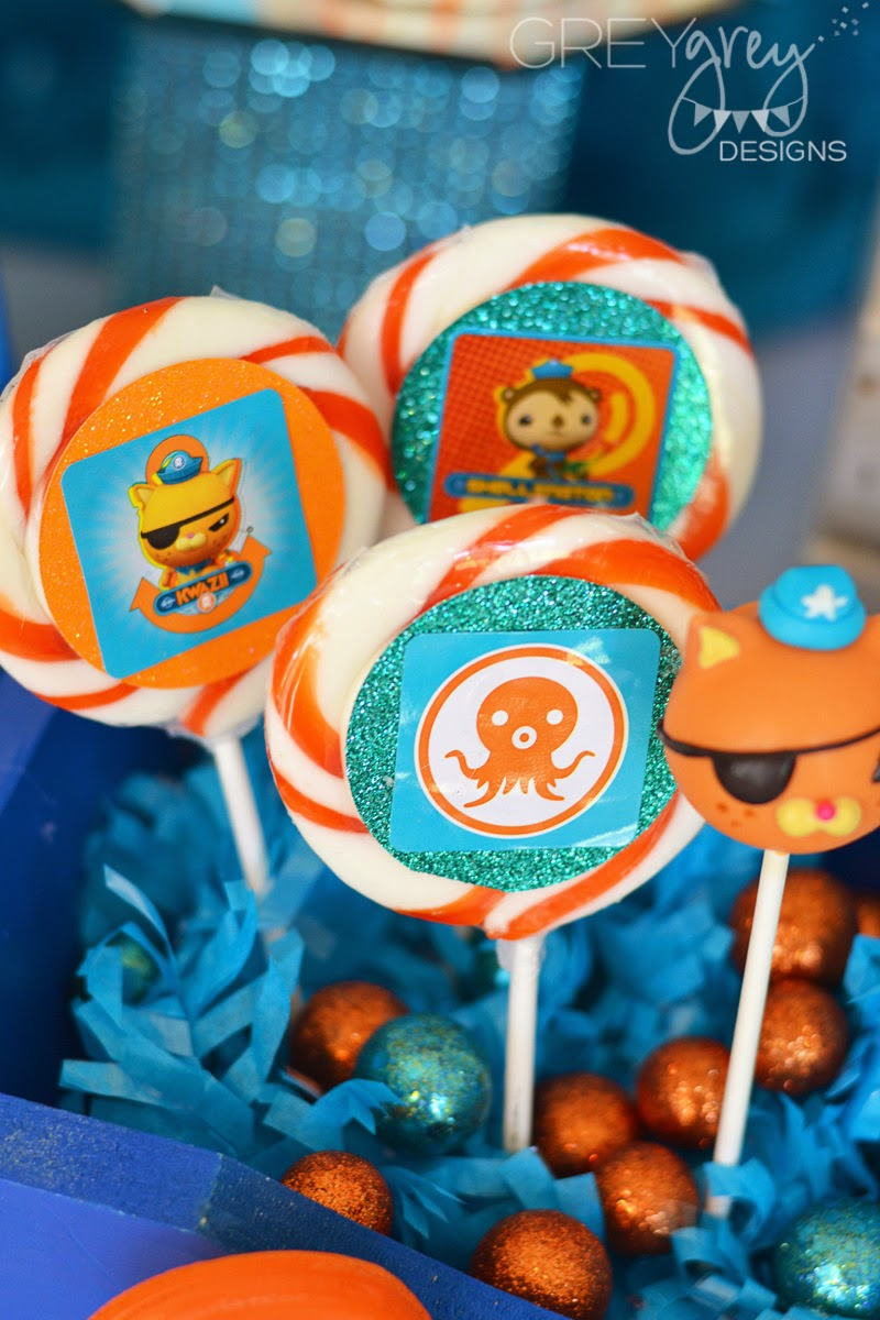 GreyGrey Designs My Parties Octonauts Party with Birthday Express