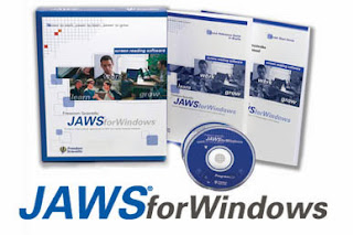 JAWS screen reader packet
