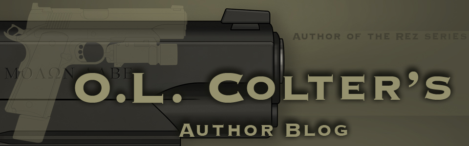 O.L. Colter's Author Blog