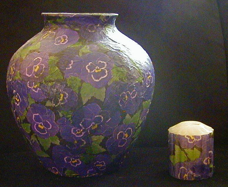 How To Make A Vase With Paper Mache Easy Craft Idea