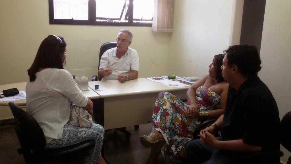 Maria Cristina Andriolo, do Sebrae, secretário de Turismo Carlos Tucunduva, subsecretário Gilberto Passos e Anielle Monteiro: parceria em benefício do turismo