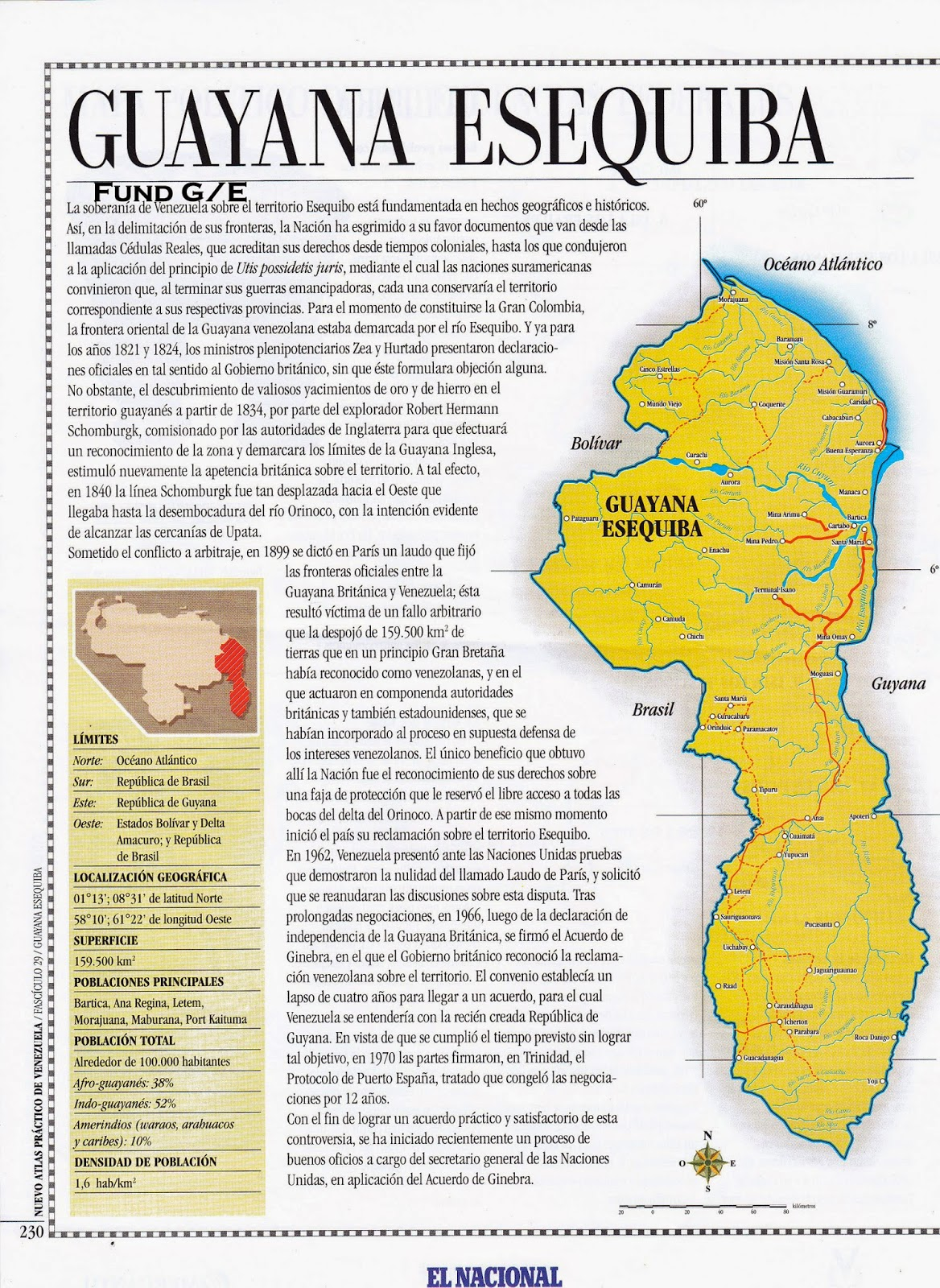 2001 – Mapa Político de la