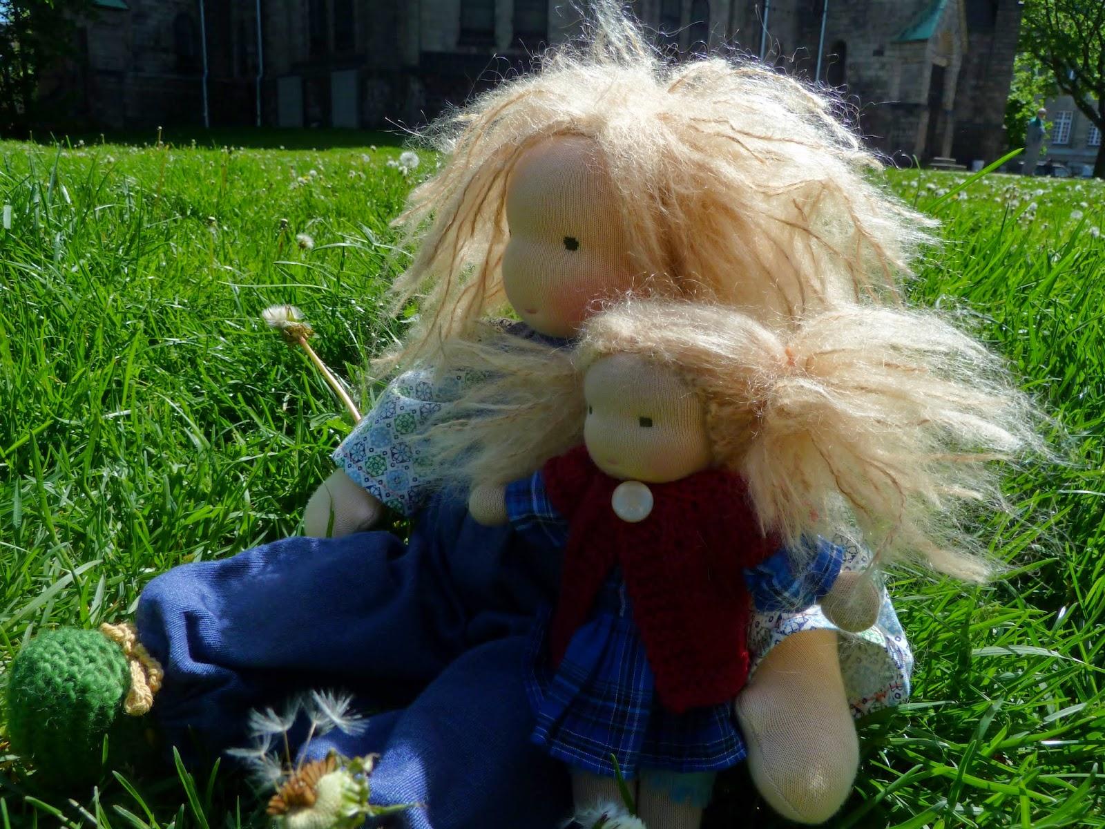 waldorf puppe, waldorf doll