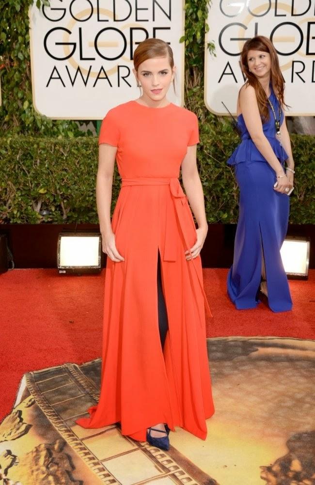 Golden Globe Emma Watson