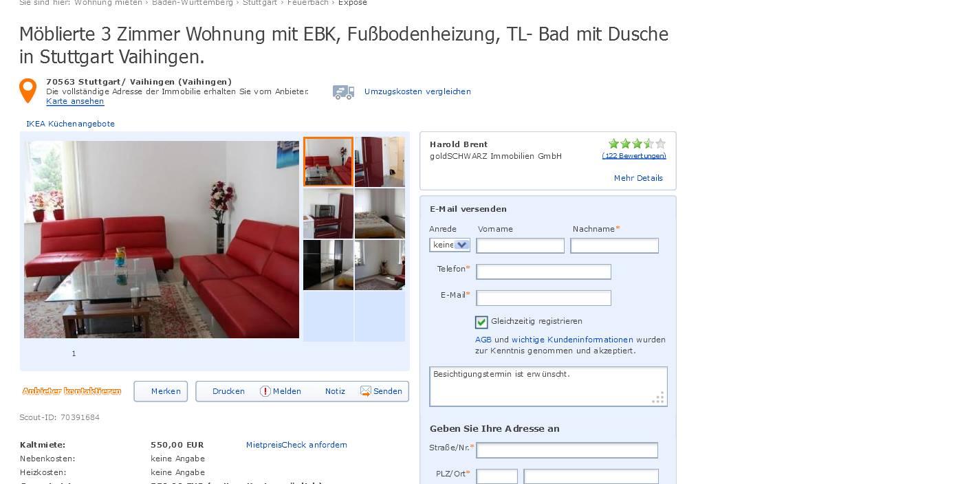 informationen ber wohnungsbetrug informations about rental scam seite 124. Black Bedroom Furniture Sets. Home Design Ideas