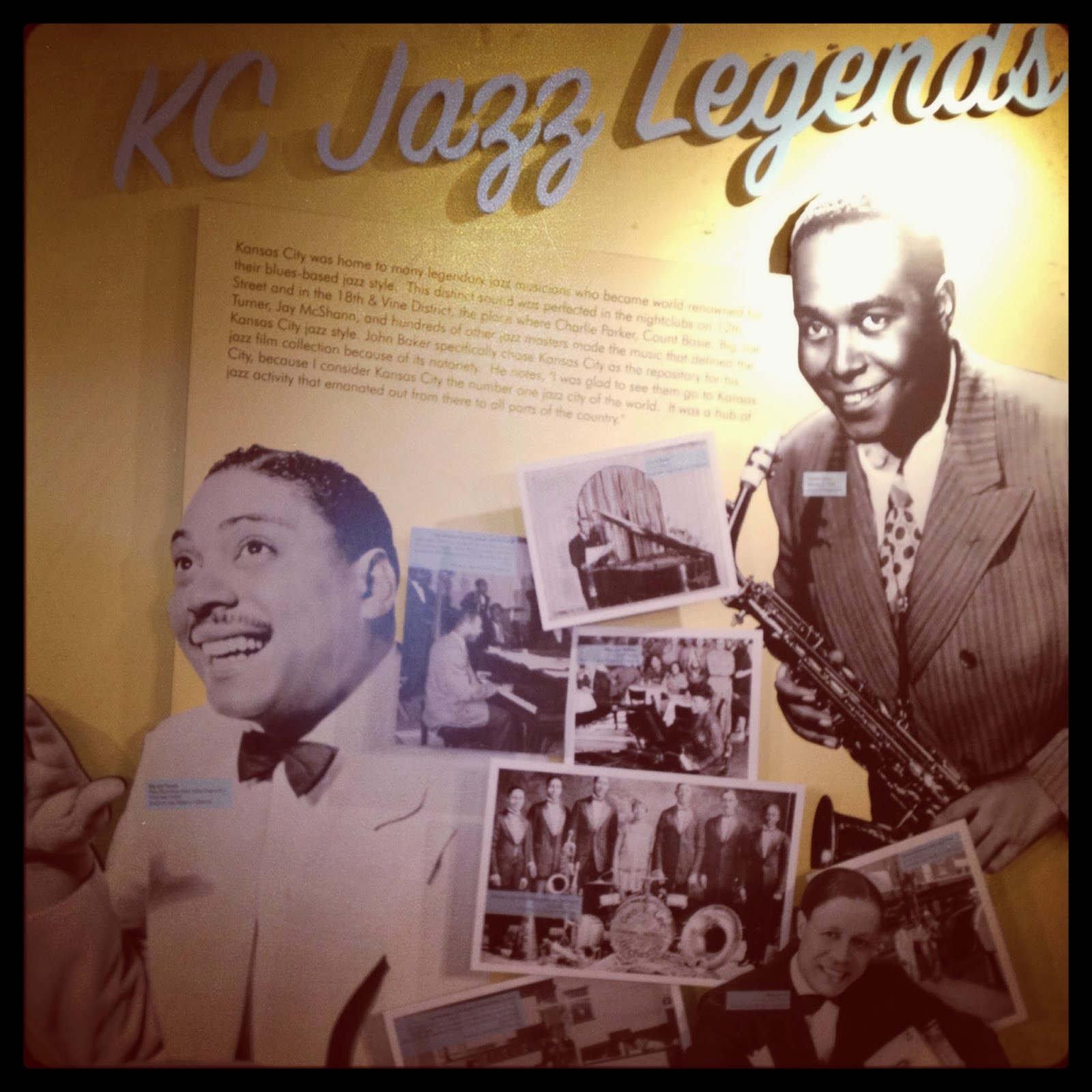 Kansas City Jazz Legends - Charlie Parker, Duke Ellington, Ella Fitzgerald  American Jazz Museum