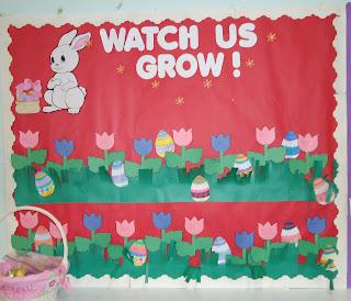 Spring Bulletin Boards on Spring Work Bulletin Board Ideas
