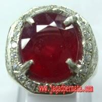 Batu Permata Ruby Asli