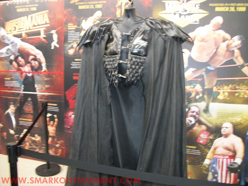 WrestleMania Axxess Undertaker Outfit