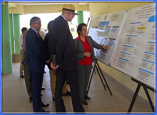 أكاديمية مكناس تافيلالت: زيارة سفير الاتحاد الأوربي للمركب التربوي بإقليم الحاجب