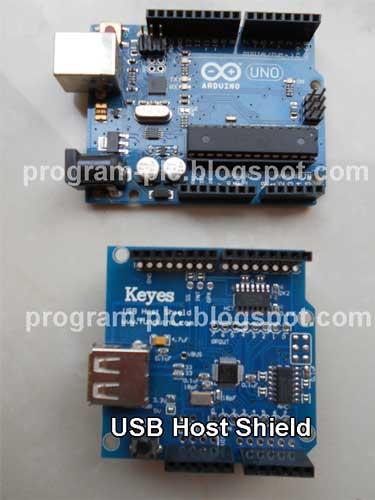GitHub - felis/USB_Host_Shield: Libraries and code for