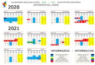 CEIP BASURTO HLHI Egutegia 2020-21