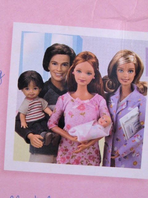 happy family barbie dolls