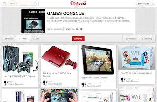 GAMES CONSOLE on Pinterest