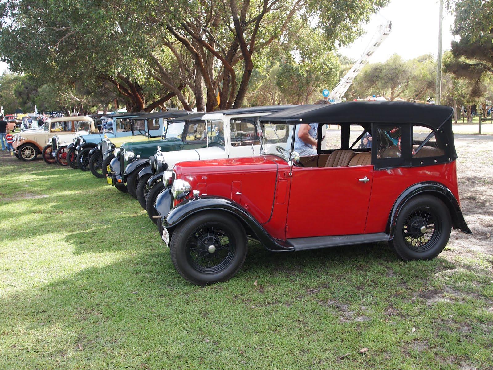 Auto-Union Project: Classic Car Show, Whiteman Park 2012