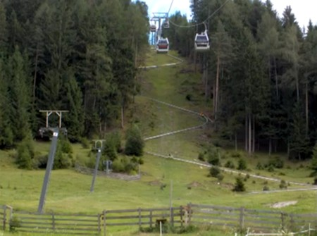 Montaña rusa monotubo - Monte alpino