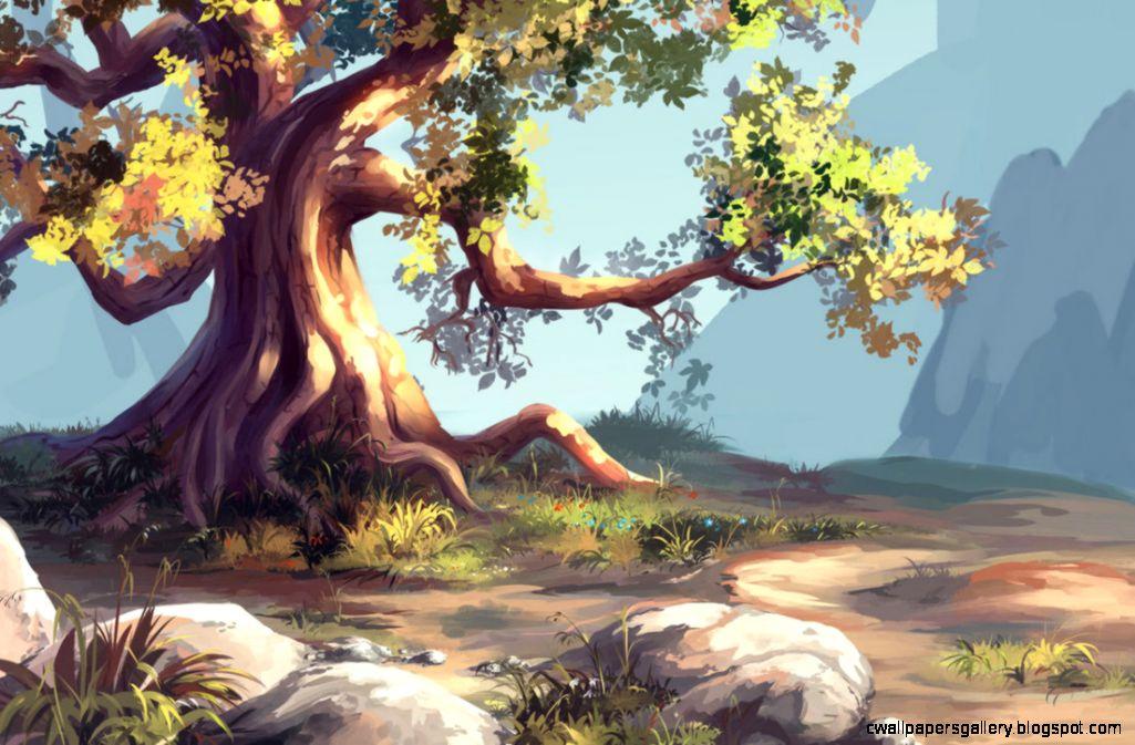 Simple tree by MasterTeacher on DeviantArt
