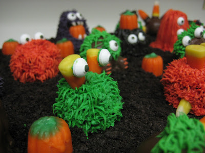 Halloween Little Monster Cake Balls - Close-Up View 2