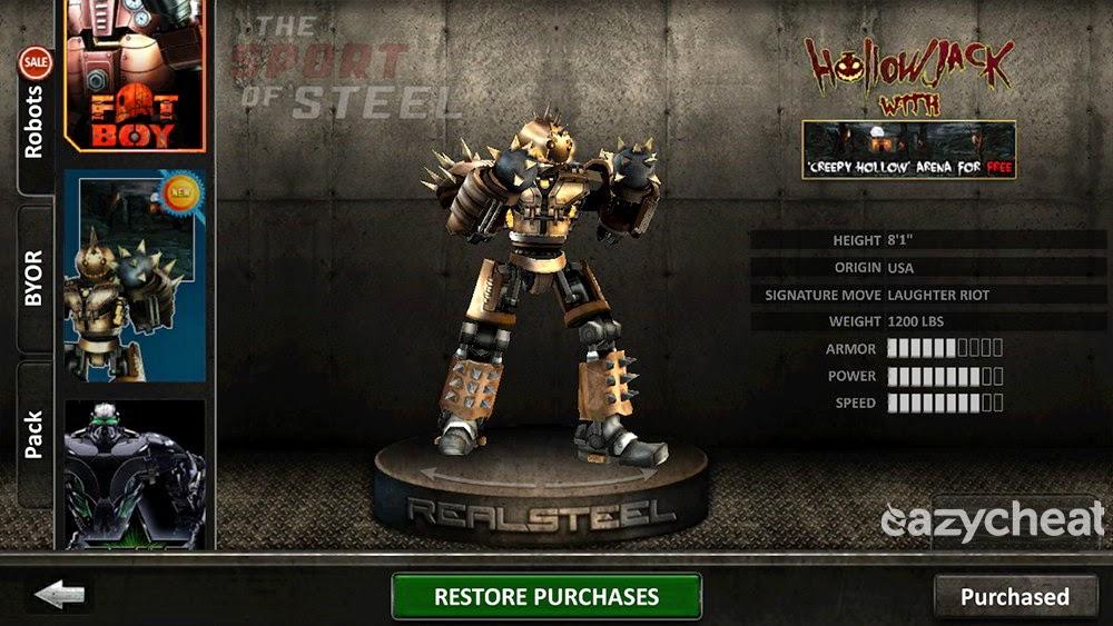Real Steel Игра На Андроид Читы