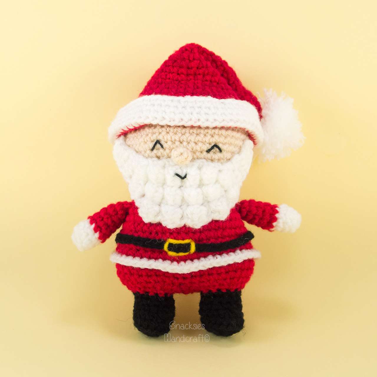 Amigurumi Santa Patterns : Santa Claus Amigurumi ~ Snacksies Handicraft Corner