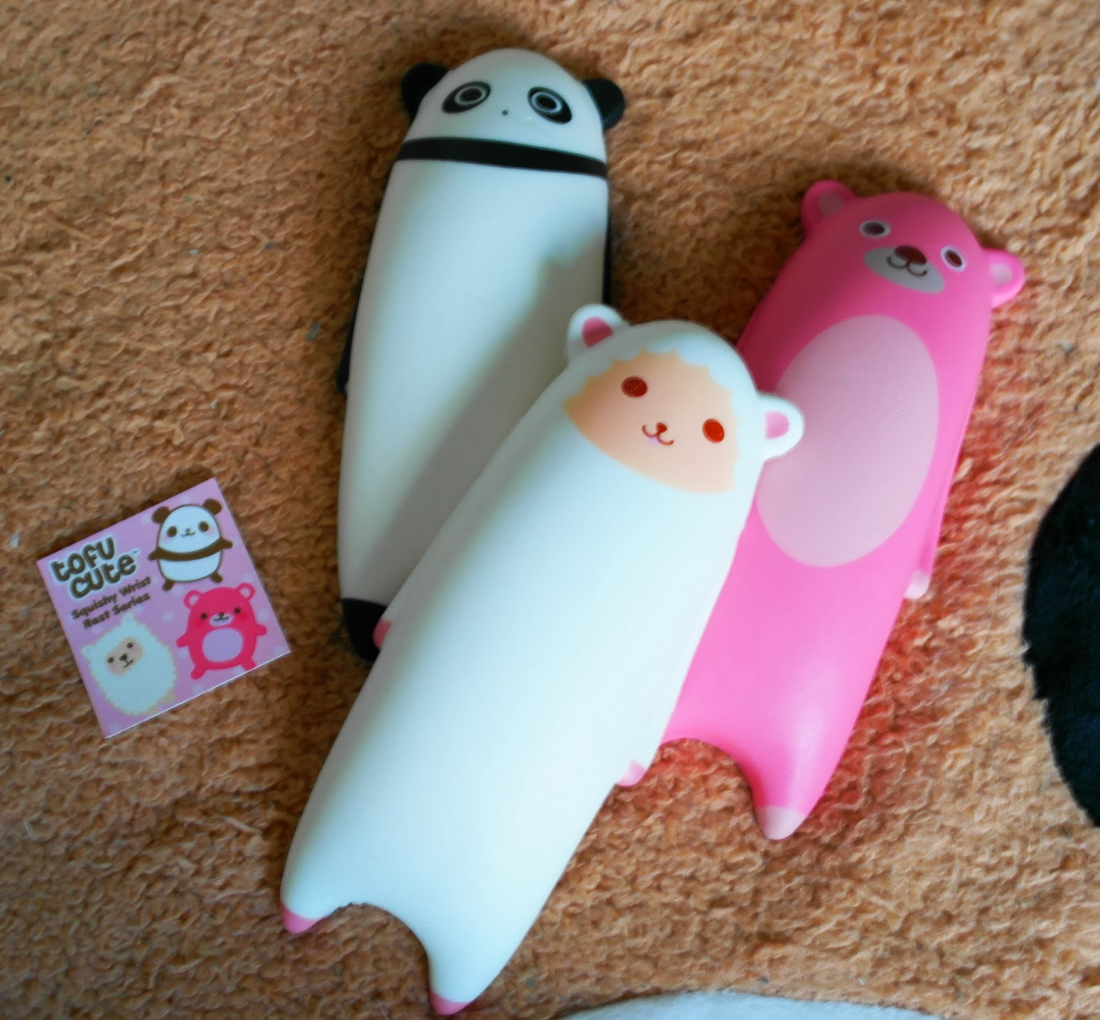 Kawaii Squishy Animal Wrist Rest : Tofu Cute Official Blog: New Squishy Items