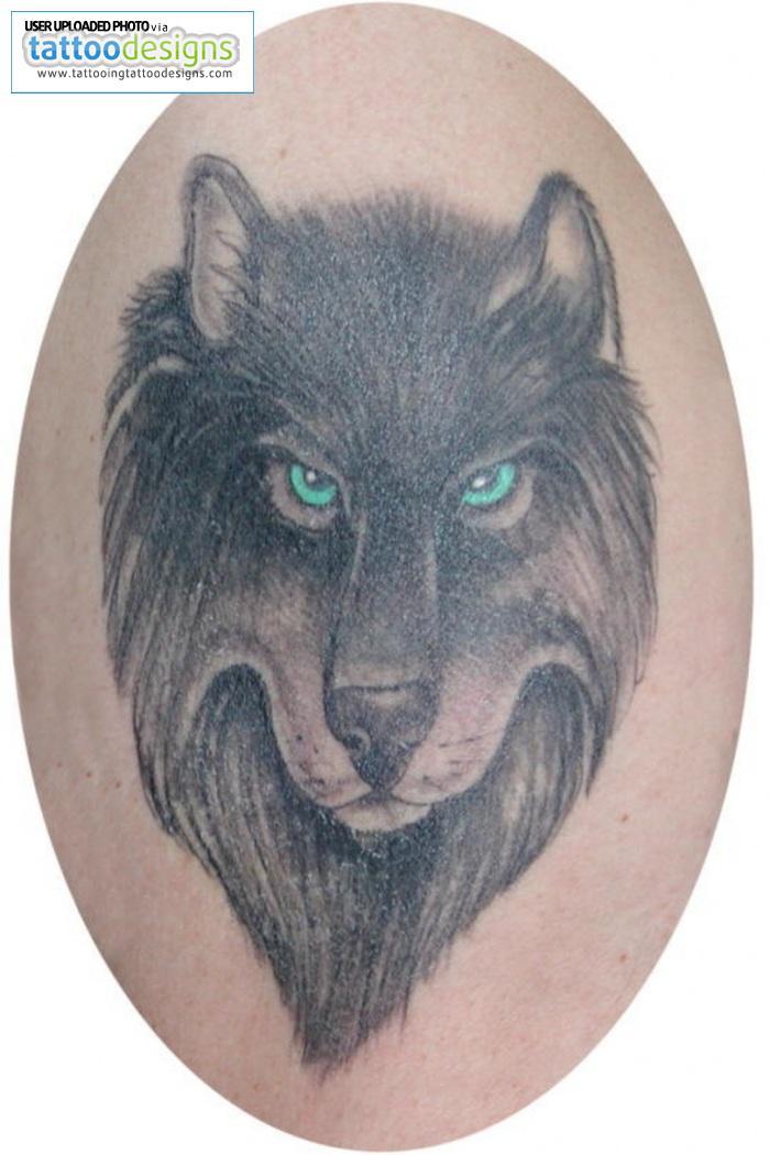 Wolf Tattoo Pics
