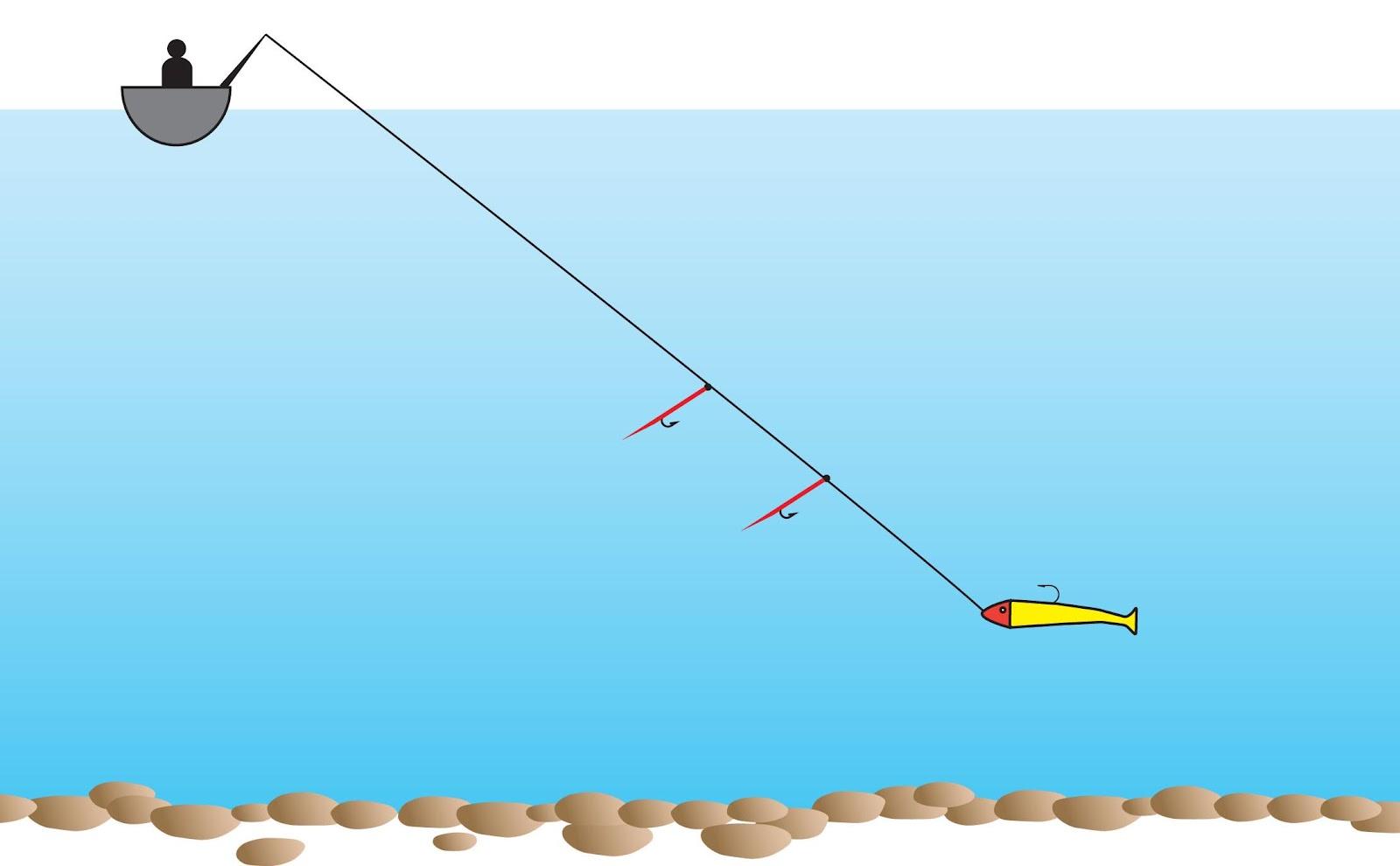 джиговая оснастка на море